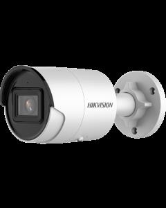 4MP DS-2CD2046G2-IU 2.8mm 103° AcuSense  IP Mini Bullet Camera with Microphone