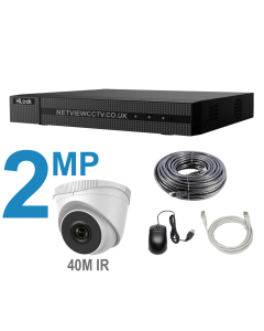 4CH 8MP NVR + 2MP IP Cameras 40mIR KIT