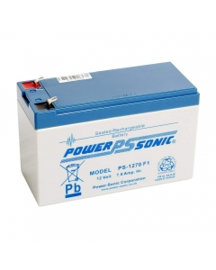 PowerSonic PS-1270VDS 12v 7Ah rechargeable SLA Battery