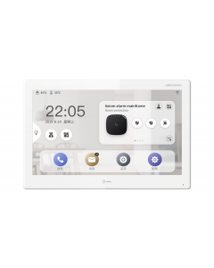 "Hikvision DS-KH9510-WTE1 10"" Android Video Intercom Indoor Station"