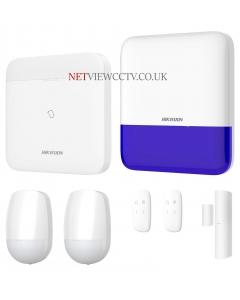 AXPro-M Bundle1 Wireless Alarm 96-Zone Hub with WiFi LAN & 3G/4G