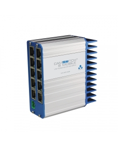 Veracity VCS-8P2-MOB CAMSWITCH 8 Mobile 8+2 Port Low Voltage 802.3at Switch