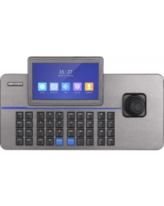 "Hikvision DS-1105KI IP Network Keyboard with Joystick &  7"" Touchscreen"