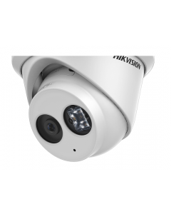 4MP DS-2CD2343G0-IU Hikvision 2.8mm 103° Turret IP Camera with Microphone