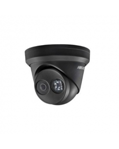 4MP DS-2CD2345FWD-I/B 2.8mm 109° Darkfighter IP Turret Dome Camera BLACK