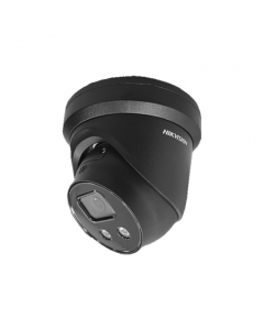8MP DS-2CD2386G2-IU 2.8mm 110° Acusense Darkfighter IP Turret Camera with Microphone Black