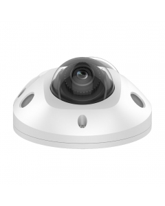 4MP AcuSense DS-2CD2546G2-IS 2.8mm 103° Darkfighter Mini Dome IP Camera with Mic