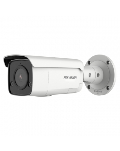 4MP DS-2CD2T46G2-ISU/SL Hikvision AcuSense 2.8mm 103° IP Bullet Camera with Strobe & 2-Way Audio