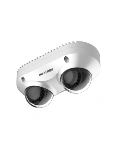 8MP DS-2CD6D82G0-IHS Hikvision Dual-Directional 2.8mm IP Camera with dual Microphones