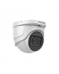 5MP DS-2CE76H0T-ITMFS Hikvision AoC 2.8mm 85.5° Audio Camera Built-in-Mic 30m IR