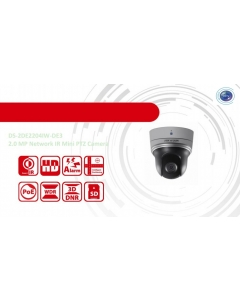 2MP DS-2DE2204IW-DE3 Hikvision Internal 4x Zoom IP PTZ Camera