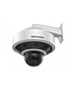 8MP DS-2DP1636Z-D Hikvision PanoVu 5mm 360° Panoramic Dome +PTZ IP Camera