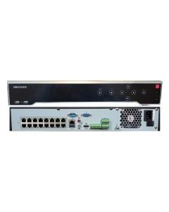 32 Channel DS-7732NI-K4/16P 32CHx8MP 16xPoE Hikvision 4K NVR