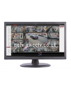 "netviewcctv.co.uk Hikvision DS-D5019QE-B 19"" LCD HD CCTV Monitor"
