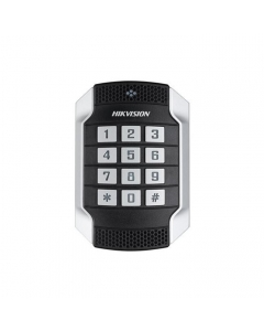 Hikvision DS-K1104MK Vandal Resistant Mifare Card Reader With Keypad