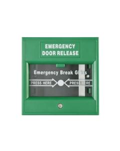 Hikvision DS-K7PEB Emergency Break Glass Box Green