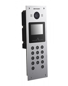 CLEARANCE: Hikvision DS-KD6002-VM Video Intercom Metal Door Station