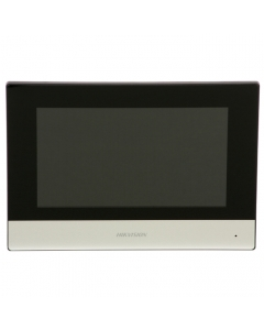 "2~Wire DS-KH6320-WTE2 Hikvision 7"" Touch Screen with WI-FI for Video Intercom"