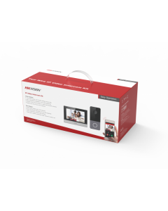 2MP Hikvision DS-KIS603-P IP Video Intercom Kit with 7-inch Touchscreen