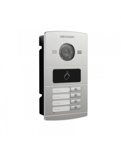 Hikvision DS-KV8402-IM Door Station Camera VoIP Intercom Metal IR 4-Button