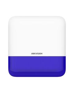 AX PRO DS-PS1-E-WE External Bellbox Sounder Siren & Strobe BLUE