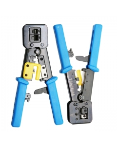 EasyCrimp RJ45 Professional Ratchet Type Cut-and-Crimp Tool stage 1