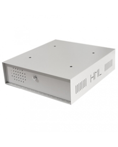 Lockable Steel DVR Enclosure with Fans 445*404*120mm LDVR1-F