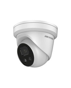 4MP DS-2CD2346G2-IU Hikvision AcuSense Darkfighter 2.8mm 103°  IP Turret Camera with Microphone
