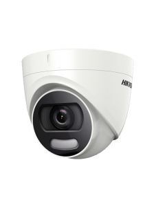 5MP Hikvision ColorVu DS-2CE72HFT-F 3.6mm 80.1° Full Time Colour Turret Camera