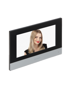 "Hikvision DS-KH6320-WTE1 7"" Touch Screen with WI-FI for Video Intercom"