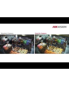 2MP Hikvision ColorVu DS-2CE72DFT-F28(2.8MM) 104° Full Time Colour Turret Camera