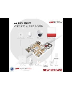 AX PRO PIR DS-PDD12P-EG2-WE 85.9° 12m PET Immune DualTech PIR Detector