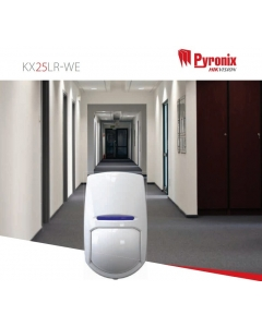 Pyronix KX25LR-WE Enforcer 25m PIR Sensor Wireless Long Range Curtain Detector