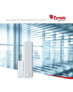 Pyronix Wireless MC1MINI-WE Two-Way Mini Magnetic Contact WHITE