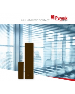 Pyronix MC1MINIBROWN-WE Mini Wireless Enforcer Magnetic Contact BROWN