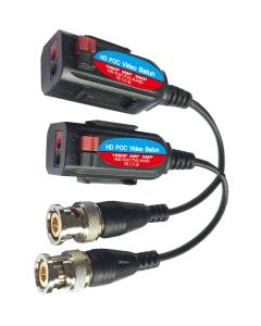 Netview Professional 4K PoC Balun Push-Fit (+Tail) for TVI/CVI/AHD/CVBS