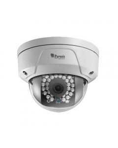 2MP Pyronix 1080P 4mm 90° Outdoor Vandal Dome Camera with WiFi
