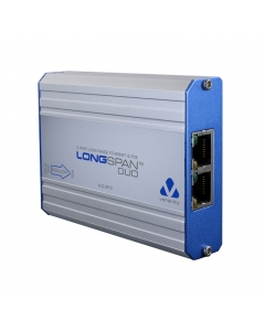 Veracity VLS-2P-C LONGSPAN Long Range Ethernet and POE Two Port Adaptor