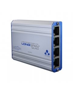 Veracity VLS-4P-C LONGSPAN Long Range Ethernet and POE Four Port Adaptor