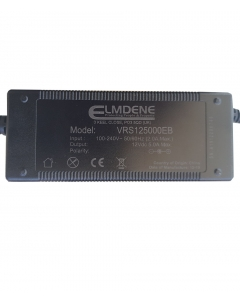 Elmdene 12v Professional 5A Power Supply 4-Way Encapsulated for CCTV Cameras