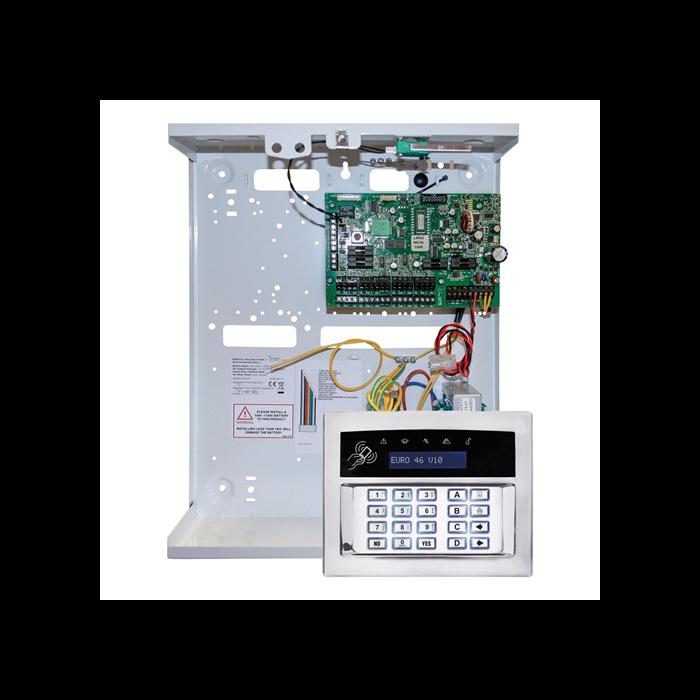 Pyronix Wired EURO46/S-UK Euro 46 v10 Hybrid Control Panel + Keypad
