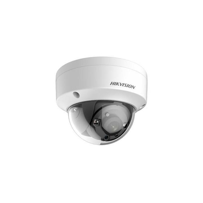 5MP DS-2CE56H0T-VPITE Hikvision 2.8mm 85.5° Turbo HD Vandal Dome Camera
