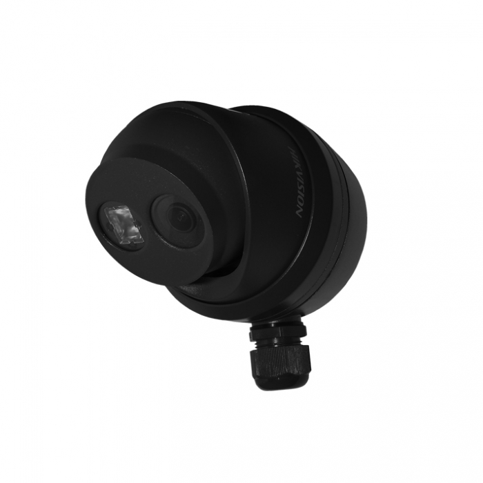 DS-1280ZJ-DM8 BLACK Junction Box for Hikvision DS-2CD23xx Turret Dome Cameras