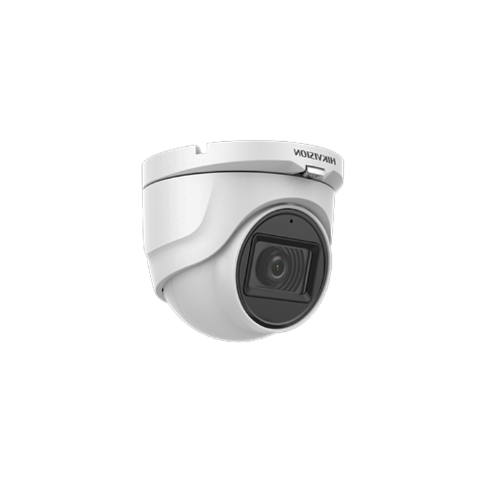 2MP DS-2CE76D0T-ITMFS Hikvision AoC 2.8mm 106.5° Audio Camera Built-in-Mic 30m IR