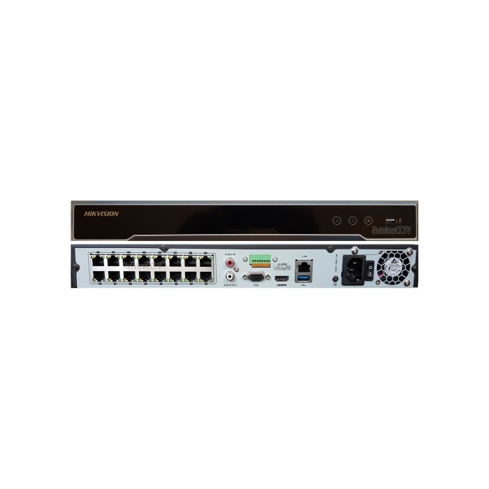 Hikvision, DS-7616NI -K2/16P, 16 Channel, NVR, 4K