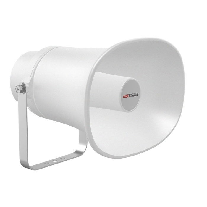 Hikvision DS-PA0103-B IP Horn Speaker with Built-in Microphone White