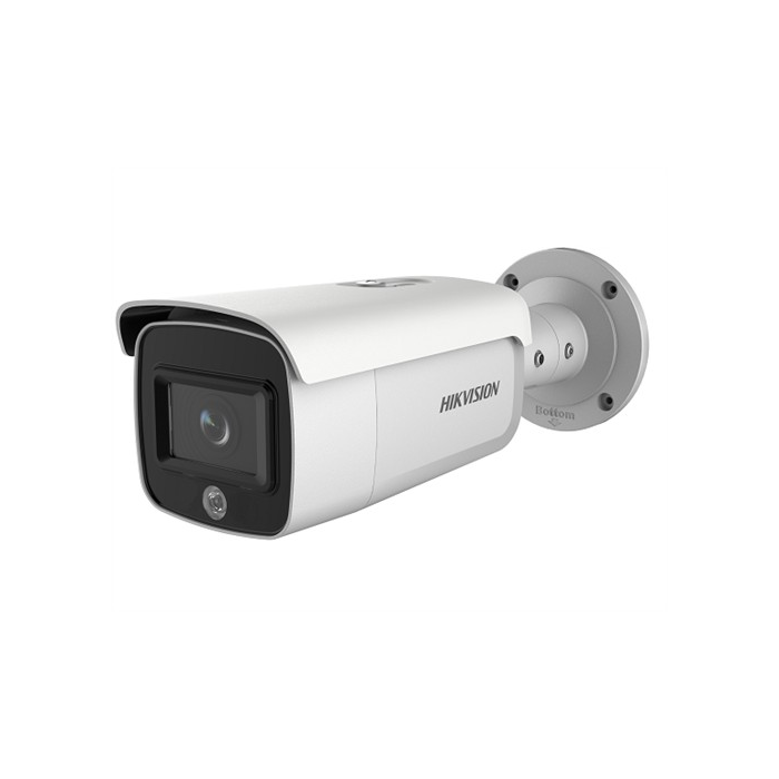 4MP DS-2CD2T46G1-4I/SL 2.8mm Acusense IP Bullet Camera with Speaker + Strobe Light