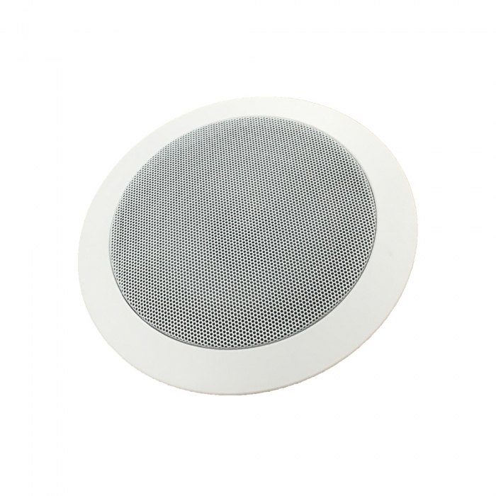 Network IP Ceiling Speaker Netgenium ASP7201-IP PoE Powered Internal flush mount