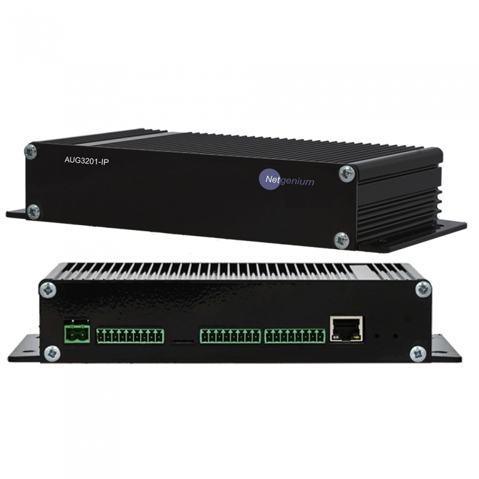 Network IP Audio Gateway Netgenium AUG3201-IP PoE Powered