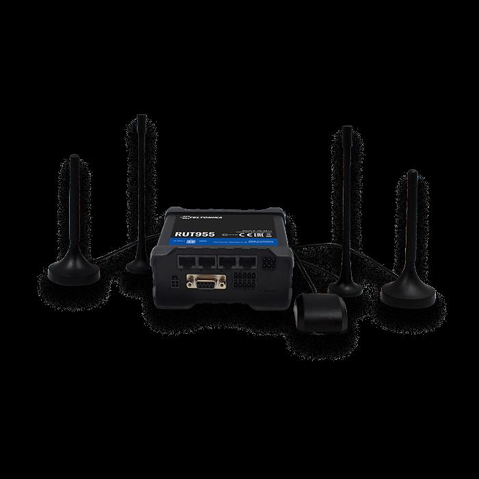 Teltonika RUT955 LTE 4G Professional Dual Sim Router set up
